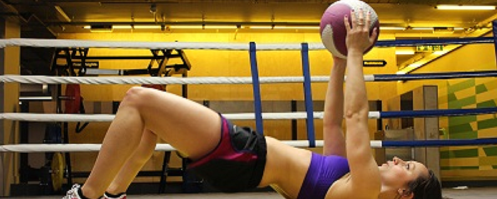 Fancy a quickie? Med ball circuit
