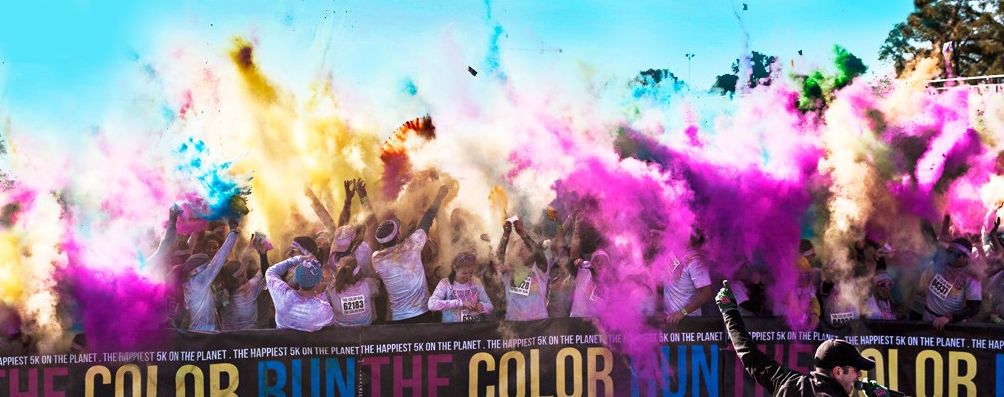 Colour Run Banner