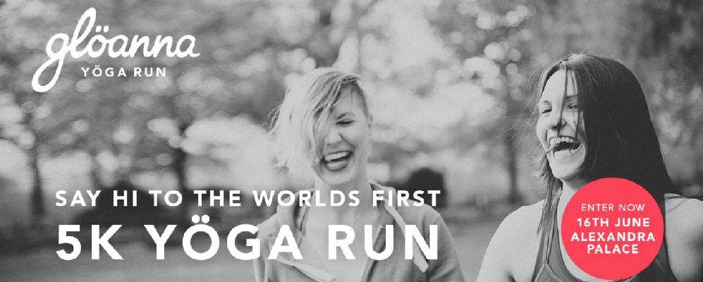 Gloanna Yogas Run Banner