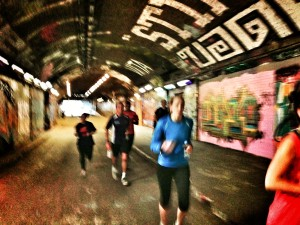 A few underground sprints