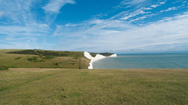 Seaford cliffs Jan Littlewood