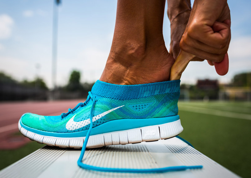 0465741e57e6 Review  Nike Free Flyknit - lunges and lycra