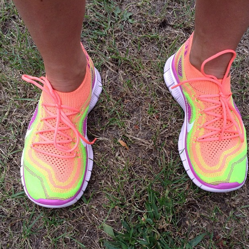 ec811bc8ce7da Review  Nike Free Flyknit - lunges and lycra