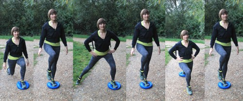 Clockwork Lunges