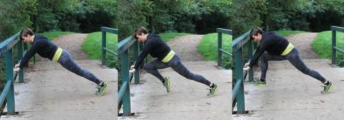 Plank Kicks
