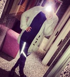 Keeping in casual in Nike Luxe leggings