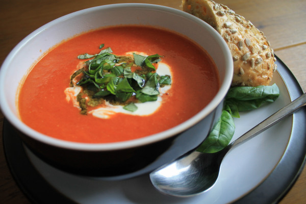 super rich tomato soup