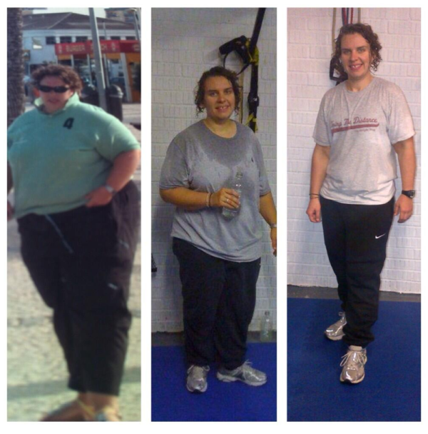 Abi's weight loss journey