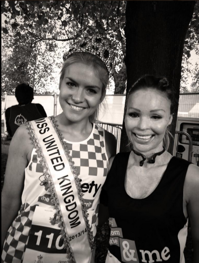 Kirsty with Katie Piper