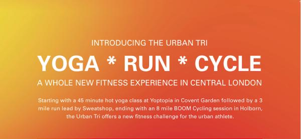 BOOM Cycle urban tri