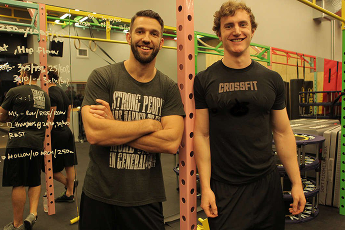 CrossFit City Road - Gymbox OLd Street - Lunges and LYcra - Tom McAdam and BJ Rule