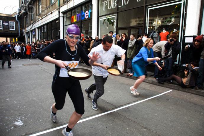 Spitalfields Pancake Race