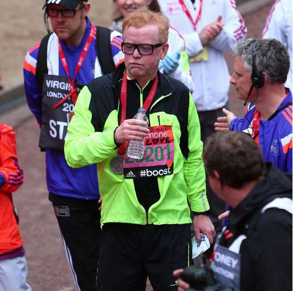 Chris Evans marathon