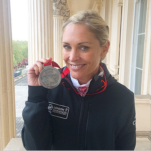 Jenni Falconer marathon