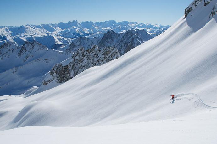 Pas du frene ski