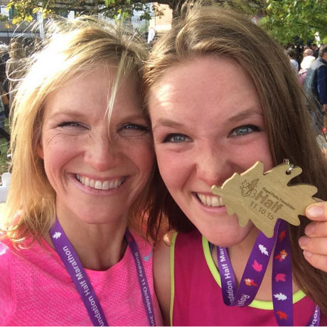 Jo Whiley half marathon