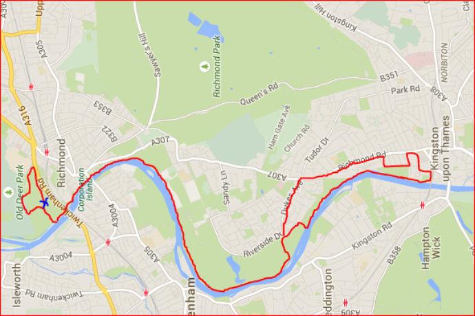 Old Deer Park Half Marathon