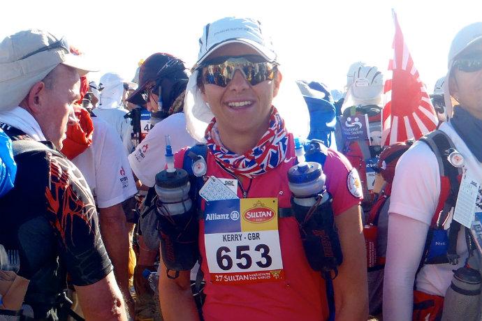 Kerry marathon des sables