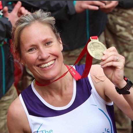 Sophie Raworth marathon