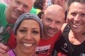Celebrity London Marathon <br/>Times 2016