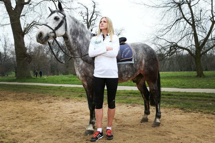 Liz Yelling Man v Horse