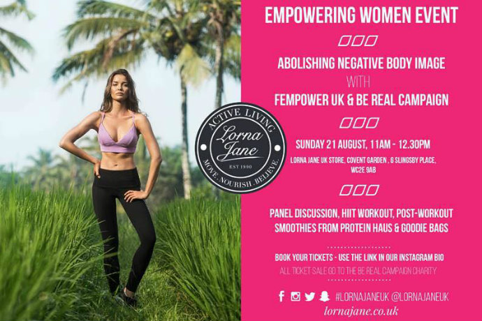 Lorna Jane Empowering Women event