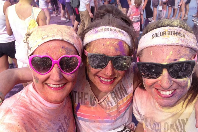 The Color Run comp