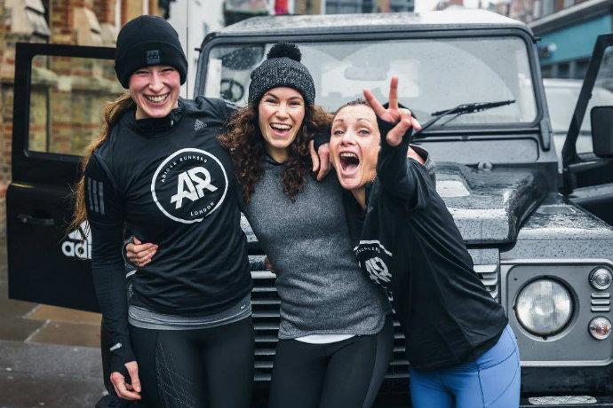 adidas runners london marathon training