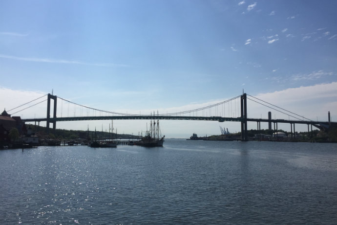 Gothenburg bridge