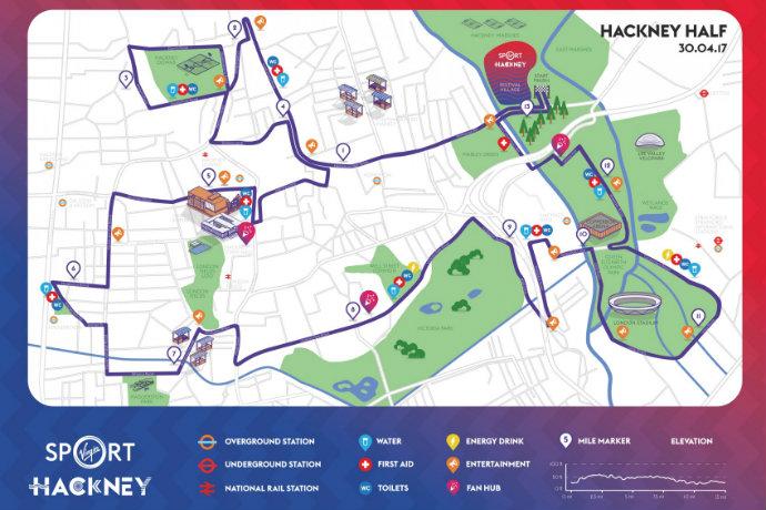 hackney half route