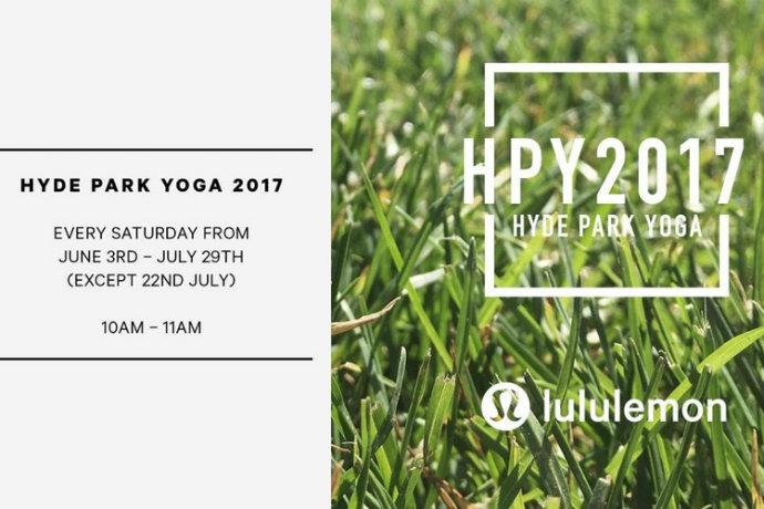 Hyde park yoga