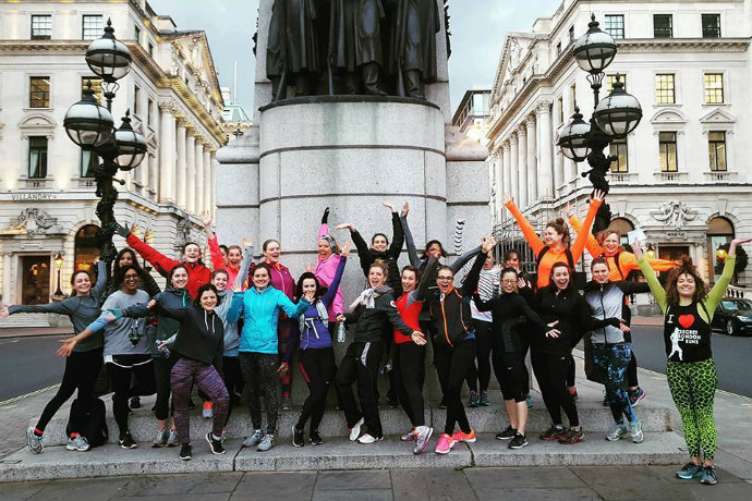 Secret London Runs Power Women's Run