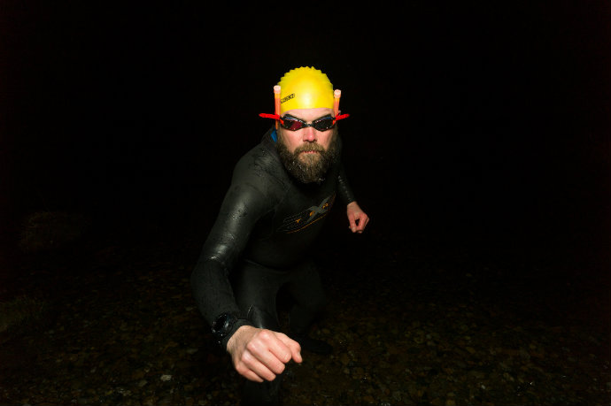 Starman night triathlon