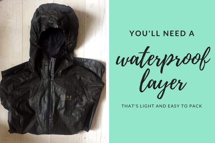 Gore rain jacket
