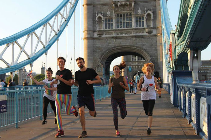 London's pride secret london runs