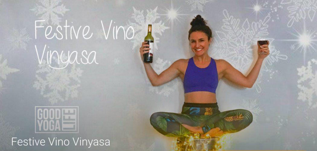 Festive Vino Vinyasa