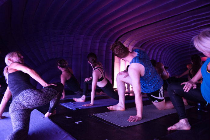 Hotpod yoga BimHjortronsteen