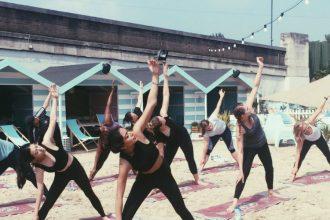 Neverland beach yoga