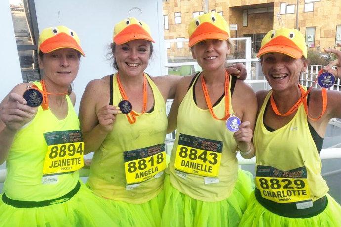 Marathon du Medoc medals