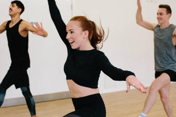 Frame dance workshop