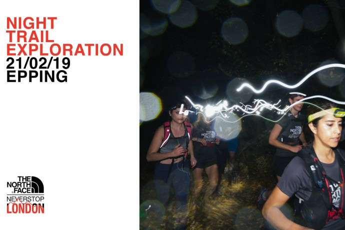 Never Stop London night trail run