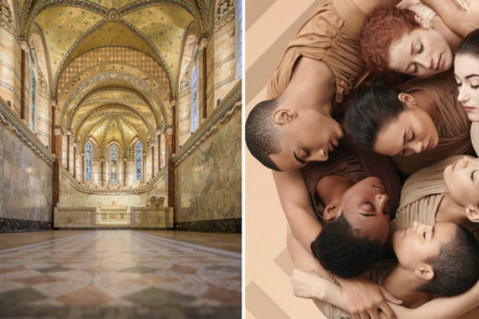 Fitzrovia Chapel and Shiseido Models