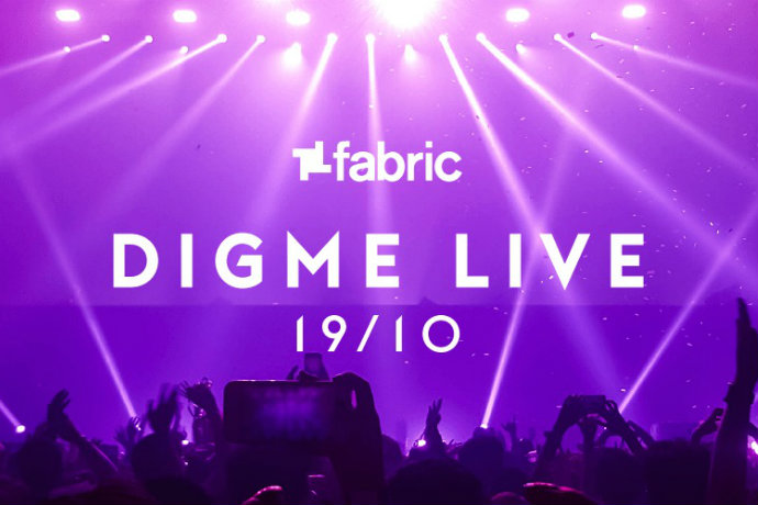 Digme Live flyer
