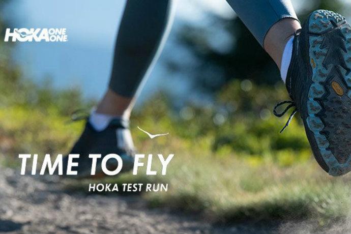 Hoka One One test run